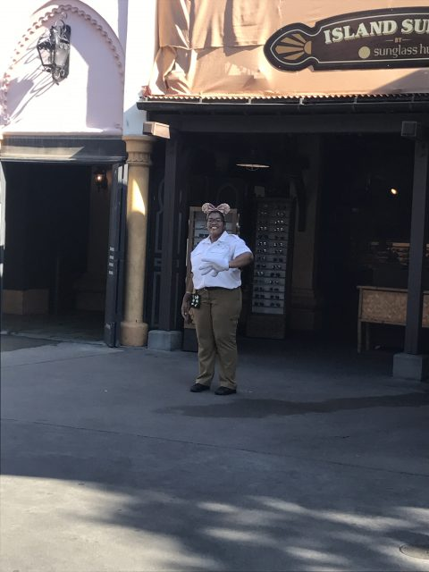 Friendly Disney Cast Member