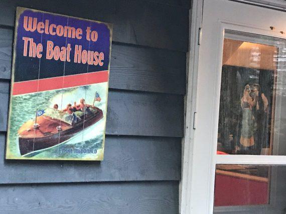 Lake McDonald Boat House