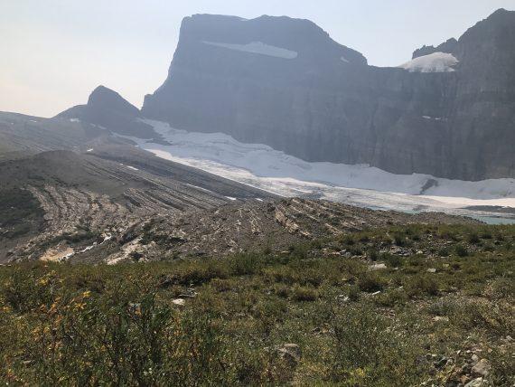 Grinnell Glacier lake
