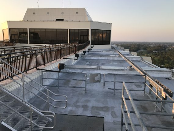 Disney's Contemporary Resort roof
