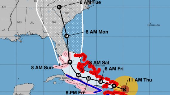 Hurricane Irma tracking
