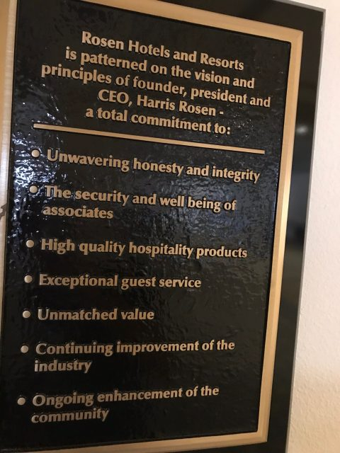 Rosen Shingle Creek values