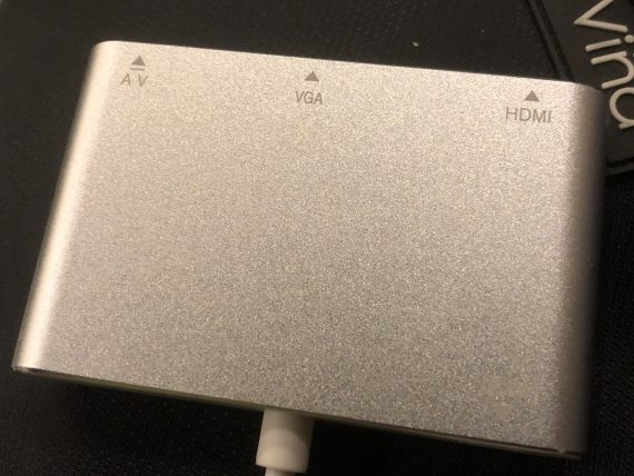 Lightning to HDMI adapter with audio