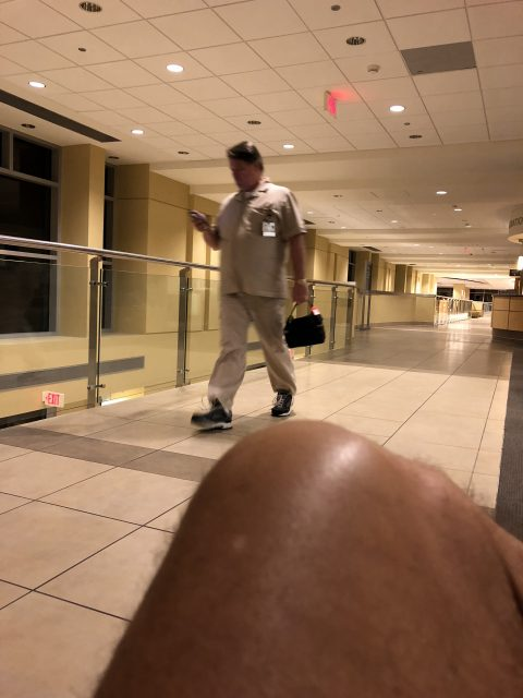 hospital worker bad show