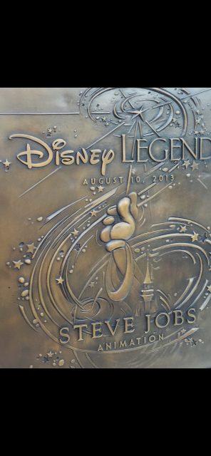 Disney Legend Steve Jobs