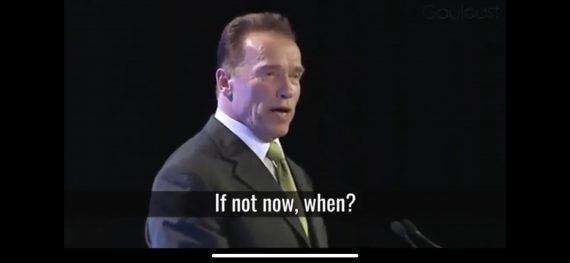 Arnold Schwarzenegger speech