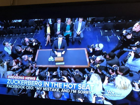 Zuckerberg hot seat