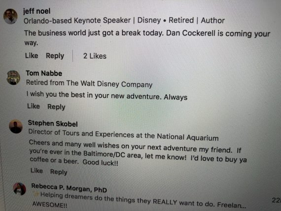 Disney news Dan Cockerell