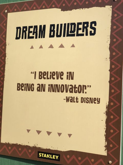 Walt Disney Innovation quote
