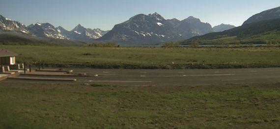 Glacier webcam