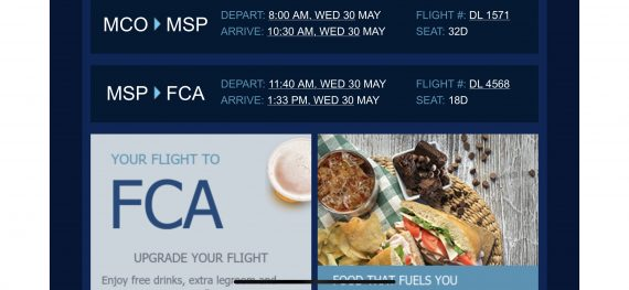 MCO to FCA flights