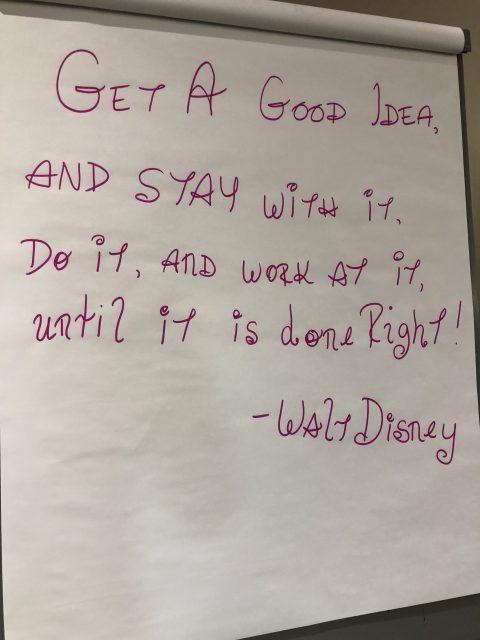 Disney Classroom flip charts