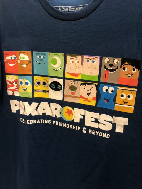 Pixar Cast Tee shirt