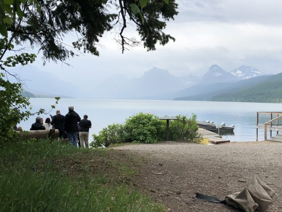 Lake McDonald wedding