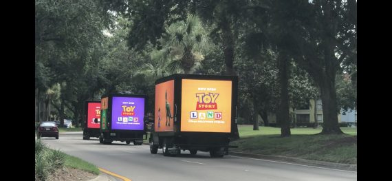 Disney trucks