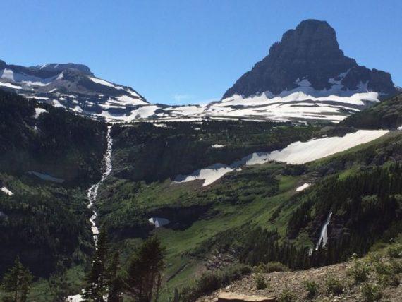 Mt Clements Glacier