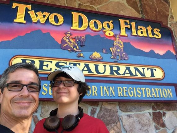 Two Dog Flats restaurant