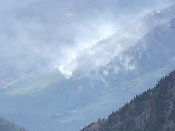 Howe Ridge fire Glacier 2018