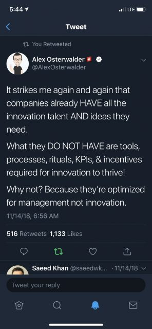 Innovation challenges