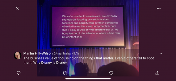 Disney Business insight