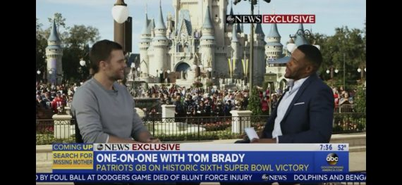 Tom Brady at Walt Disney World