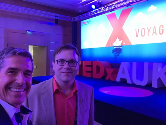 Jody Maberry and jeff noel TEDxAUK