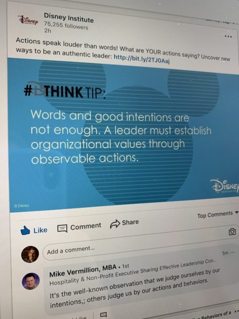 Disney Institute insights
