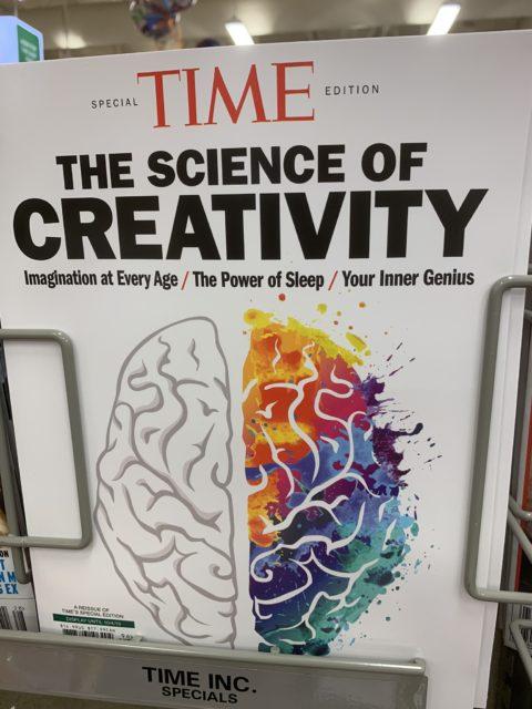 Creativity Time magazine