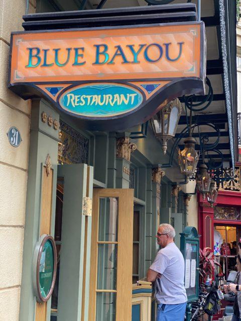 Disneyland's Blue Bayou Restaurant