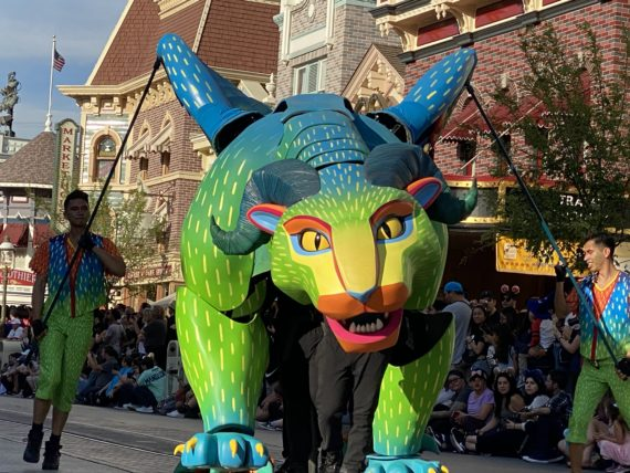 Disneyland parade float