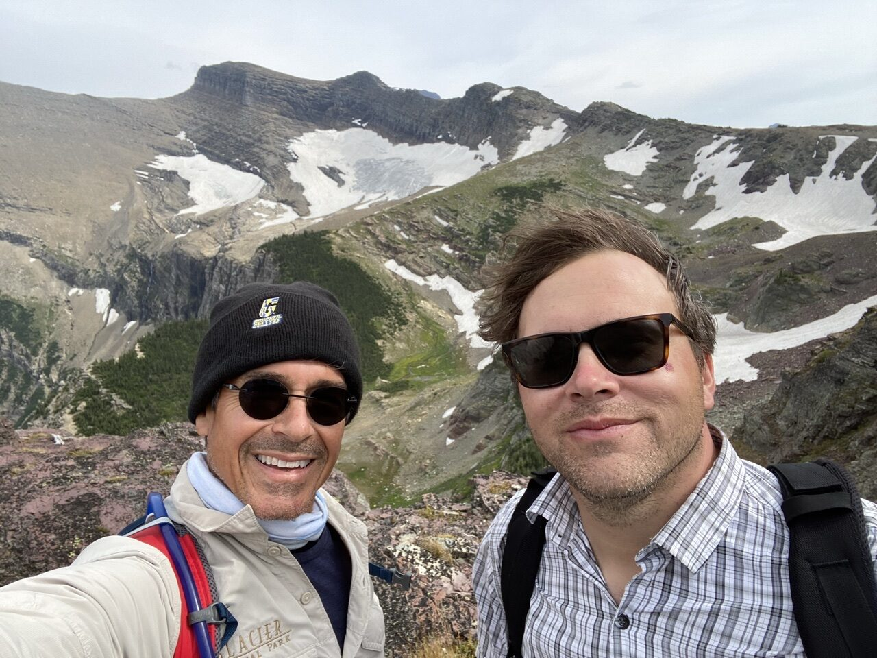 Jeff noel and Jody Maberry in mountains