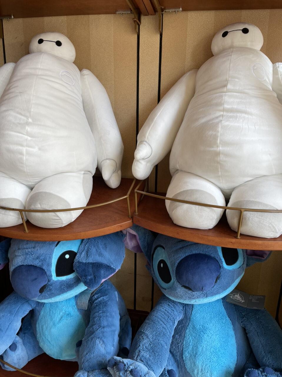 Disney character plush toys