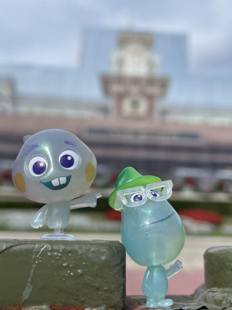 Disney Soul toy characters at Magic Kingdom