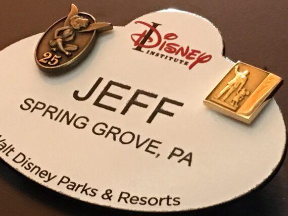 Disney name tag