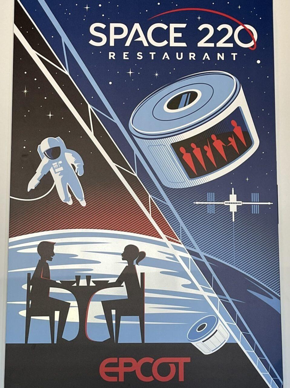 disney restaurant poster