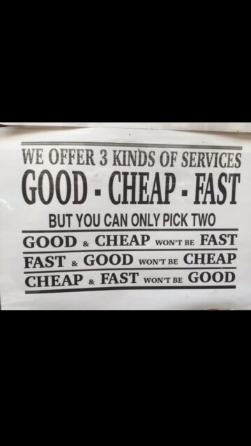 funny quote about pricing
