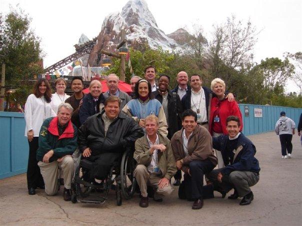 Disney Institute team building event team photo