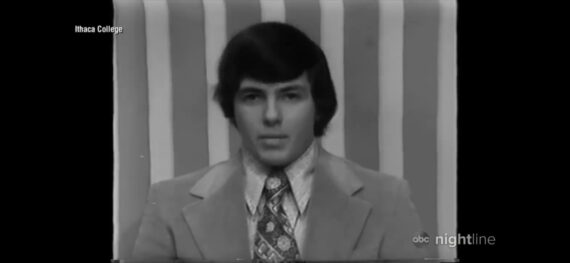 photo of young Bob Iger