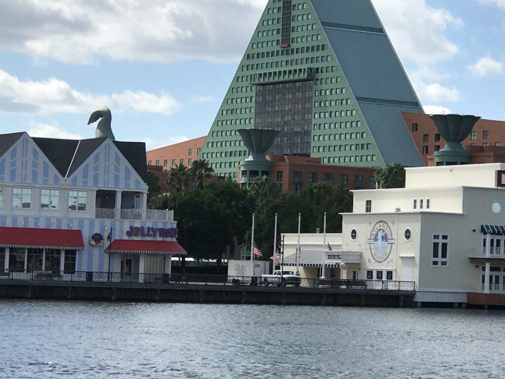 Disney's Boardwalk Resort panorama