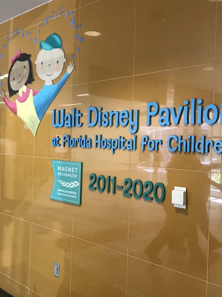 Florida hospital children's wing