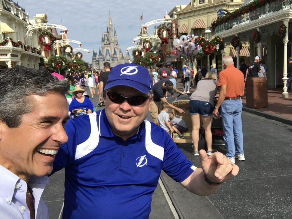 Two Disney Institute speakers on Main Street