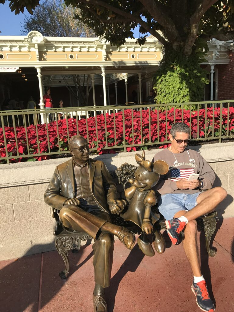 Disney brand loyalty author Jeff Noel channeling our founder's DNA