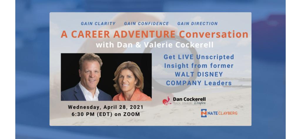Dan and Valerie Cockerell webinar ad